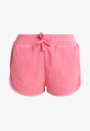 LADIES TOWEL HOT PANTS - Teplákové kalhoty - pinkgrapefruit