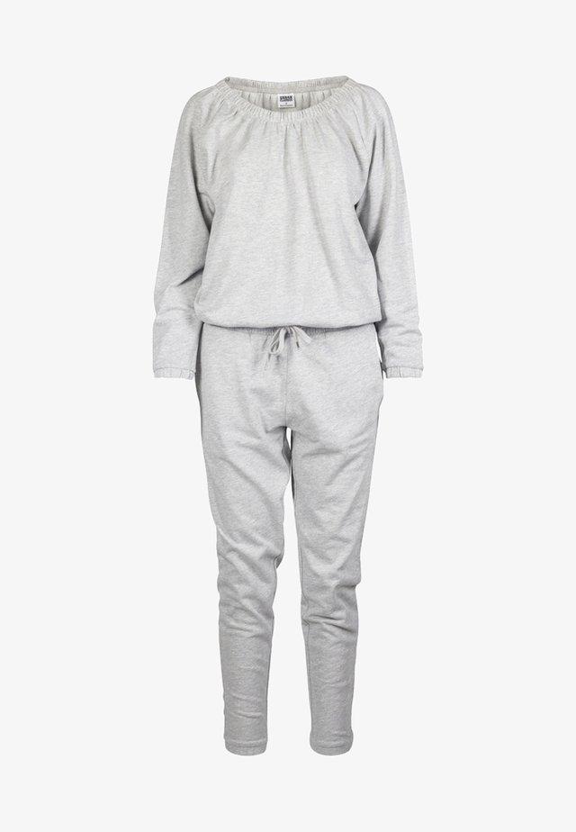 LADIES COLD SHOULDER - Jumpsuit - grey