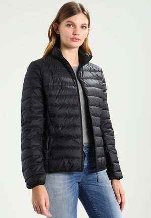LADIES BASIC JACKET - Down jacket - black