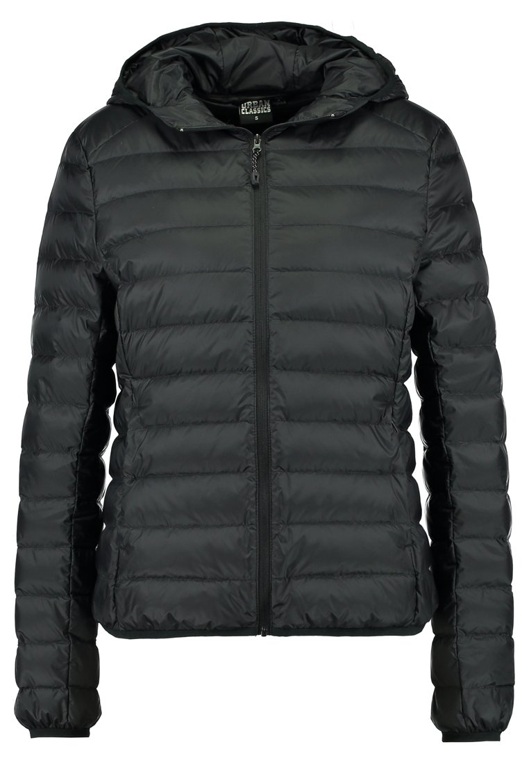 Urban Classics LADIES BASIC HOODED Gewatteerde jas black