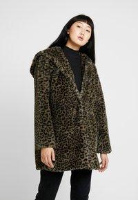 Urban Classics - LADIES LEO COAT - Winter coat - darkolive - 0