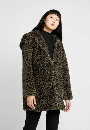 LADIES LEO COAT - Veste d'hiver - darkolive
