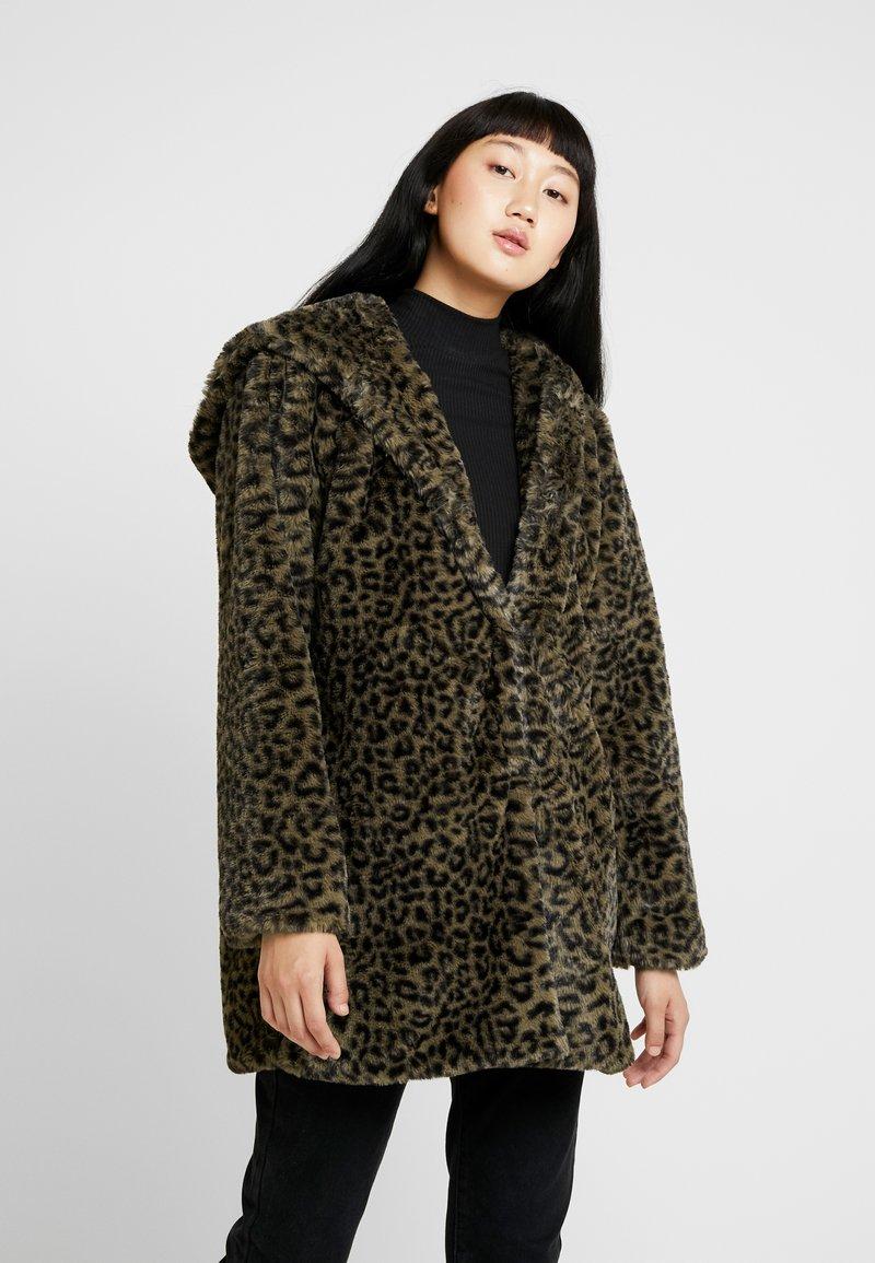 Urban Classics - LADIES LEO COAT - Winter coat - darkolive