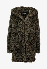 Urban Classics - LADIES LEO COAT - Winter coat - darkolive - 3