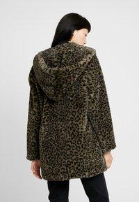Urban Classics - LADIES LEO COAT - Winter coat - darkolive - 2
