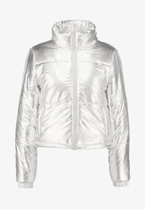LADIES PUFFER JACKET - Talvitakki - silver