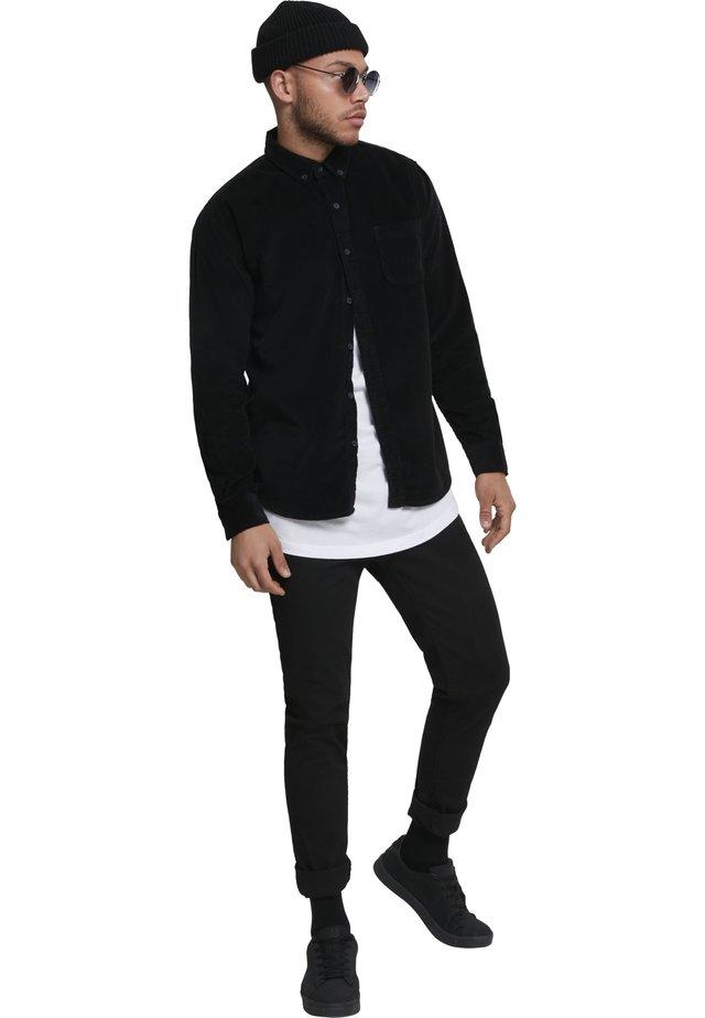 CORDUROY - Hemd - black