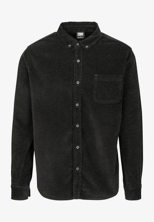 CORDUROY - Overhemd - black