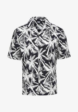 PATTERN RESORT - Skjorta - palm/white