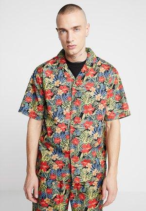PATTERN RESORT - Overhemd - black/tropical