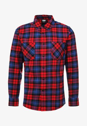 CHECKED  - Skjorter - red/royal