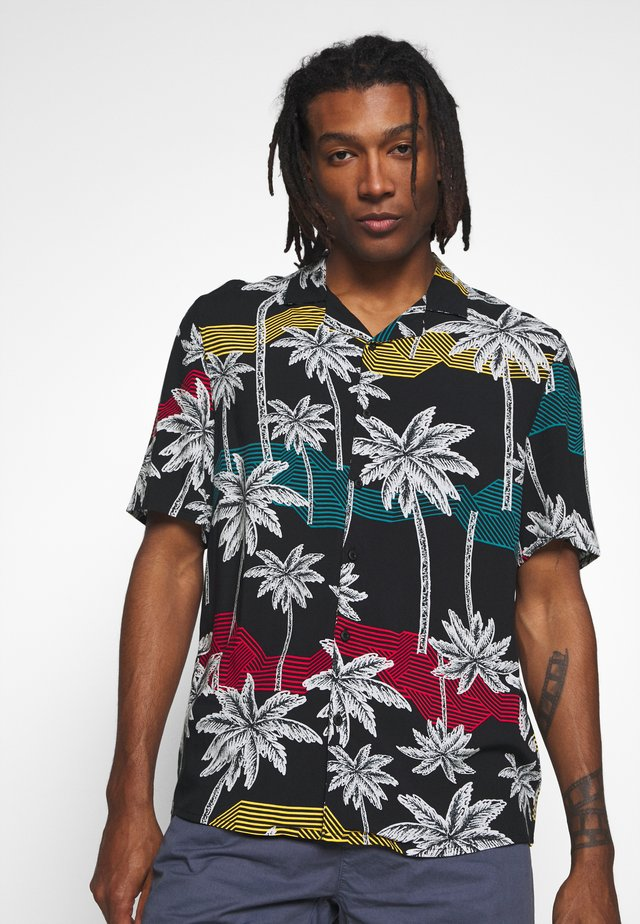 PALM TREE RESORT SHIRT - Skjorter - black
