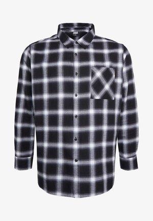 OVERSIZED CHECK - Overhemd - black/white