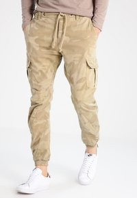 Urban Classics - Cargo trousers - sand - 0