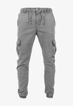 JOGGING - Cargo trousers - darkgrey