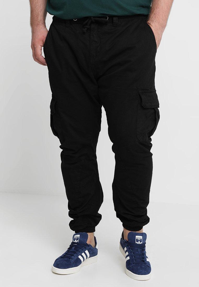 Urban Classics - Cargo trousers - black