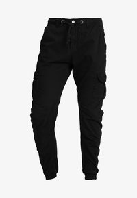 Urban Classics - JOGGING PANT - Cargo trousers - black - 4