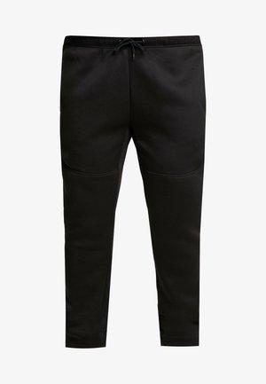 CUT AND SEW PLUS SIZE - Spodnie treningowe - black