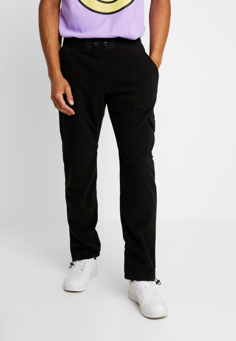 Urban Classics - POLAR PANTS - Tracksuit bottoms - black