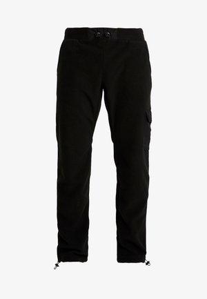 POLAR PANTS - Teplákové kalhoty - black