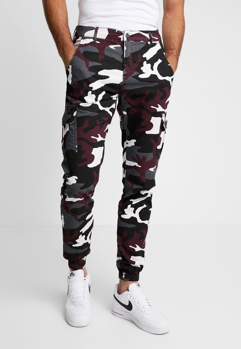 Urban Classics - PANTS 2.0 - Pantalones cargo - wine