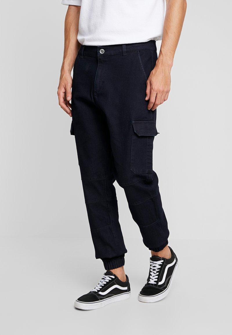 Urban Classics - Cargo trousers - blue denim