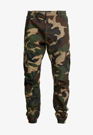 PANTS - Pantalon cargo - wood
