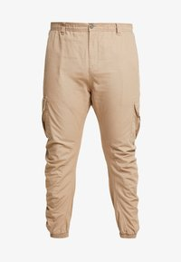 Urban Classics - RIPSTOP PANTS - Cargo trousers - beige - 4