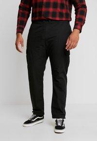Urban Classics - RIPSTOP PANTS  - Cargo trousers - black - 0