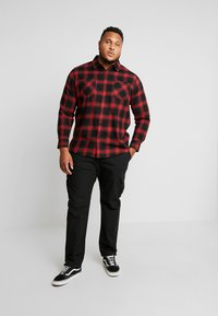 Urban Classics - RIPSTOP PANTS  - Cargo trousers - black - 1