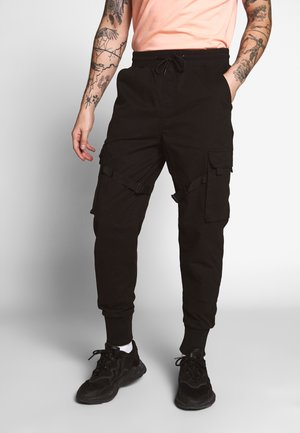 TACTICAL TROUSER - Pantalones cargo - black
