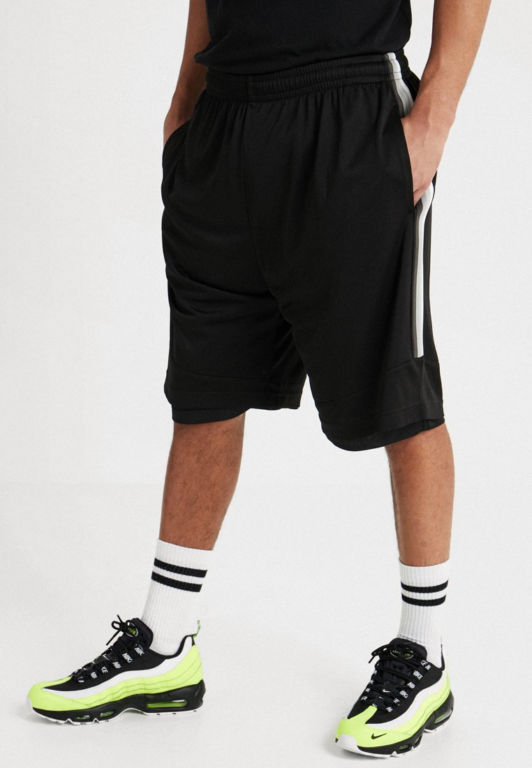Urban Classics - SIDE TAPED - Shorts - black/grey