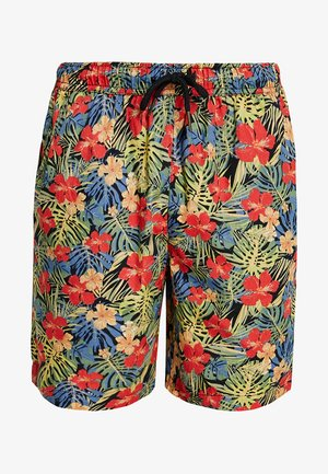 PATTERN RESORT - Short - black/tropical