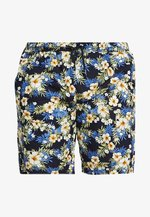 PATTERN RESORT - Shorts - blue