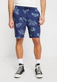 Urban Classics - PATTERN RESORT - Shorts - subtile - 0