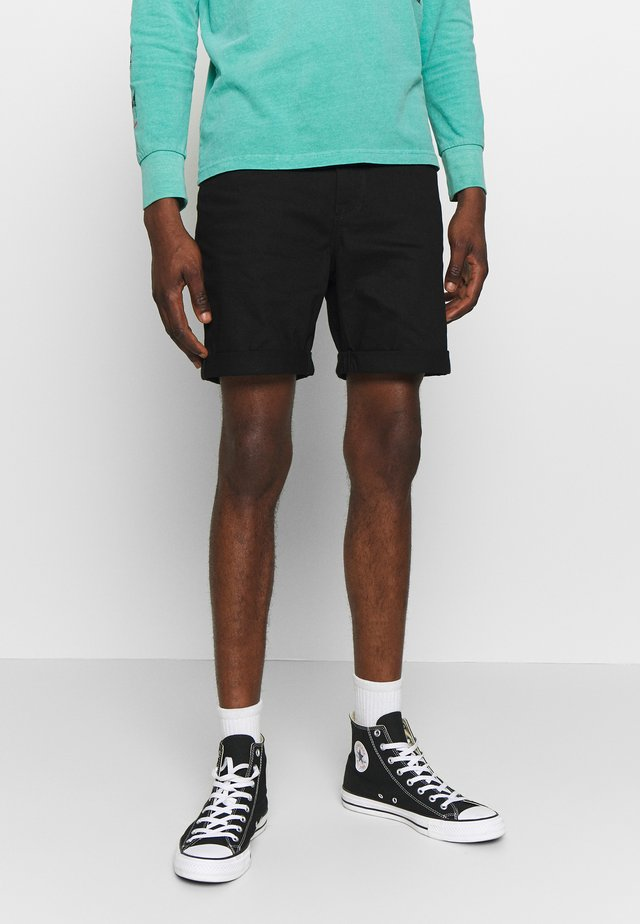 Jeans Short / cowboy shorts - blackraw