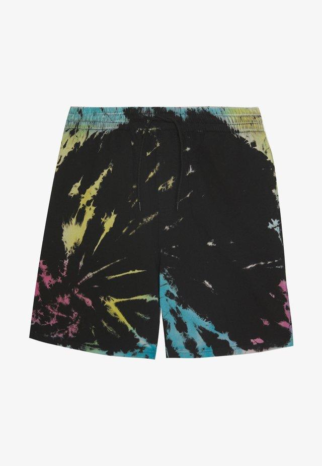 TIE DYE - Shorts - black