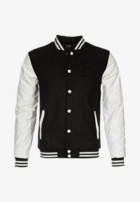 Urban Classics - OLDSCHOOL COLLEGE - Lett jakke - black / white - 5