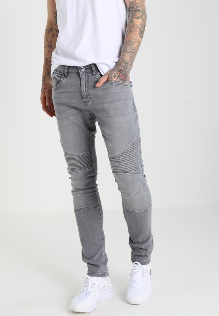 Urban Classics - Vaqueros slim fit - grey