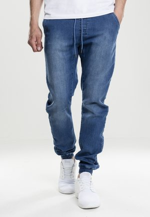 Relaxed fit jeans - blue washed