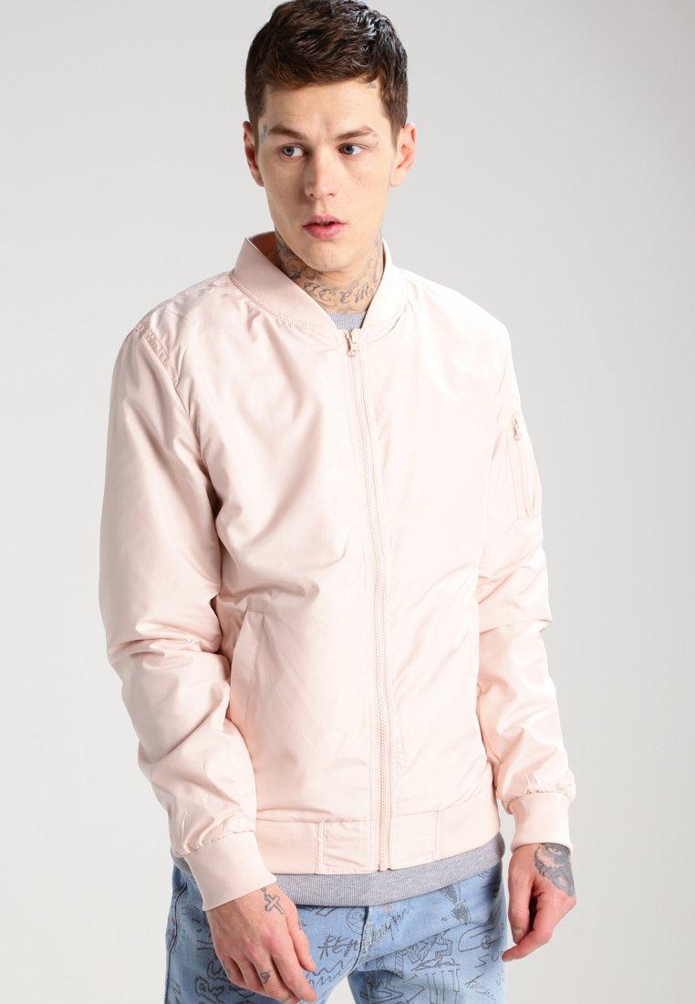 Urban Classics - Bomberjacks - light pink