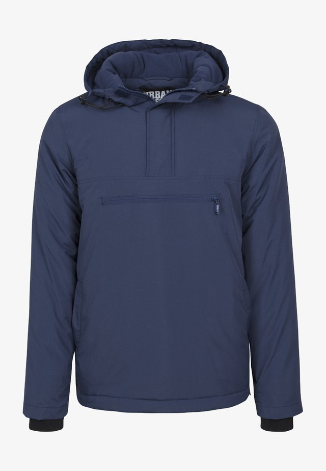 PADDED PULL OVER JACKET - Jas - navy