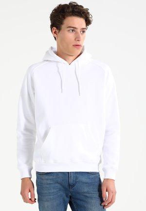 BLANK HOODY - Hoodie - white