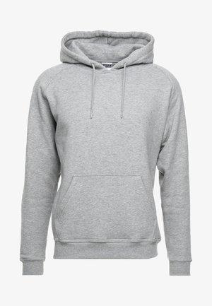 BLANK HOODY - Felpa con cappuccio - grey
