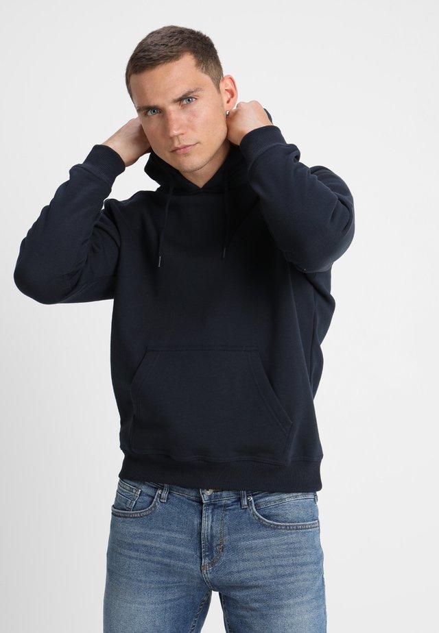 BLANK HOODY - Hoodie - dark blue