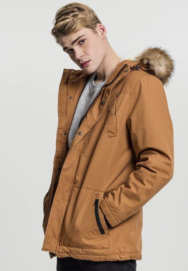 FIFFI - Winter jacket - toffee