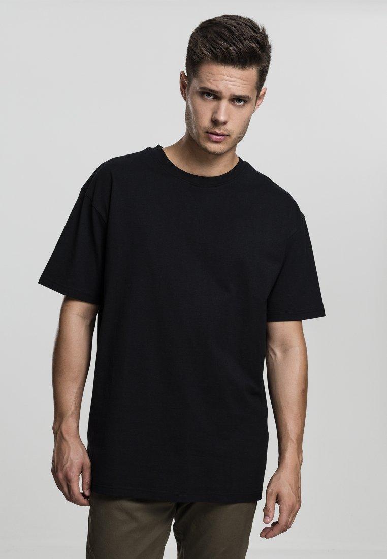 Urban Classics - HEAVY OVERSIZED TEE - T-shirt - bas - black