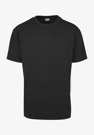 HEAVY OVERSIZED TEE - T-shirt - bas - black