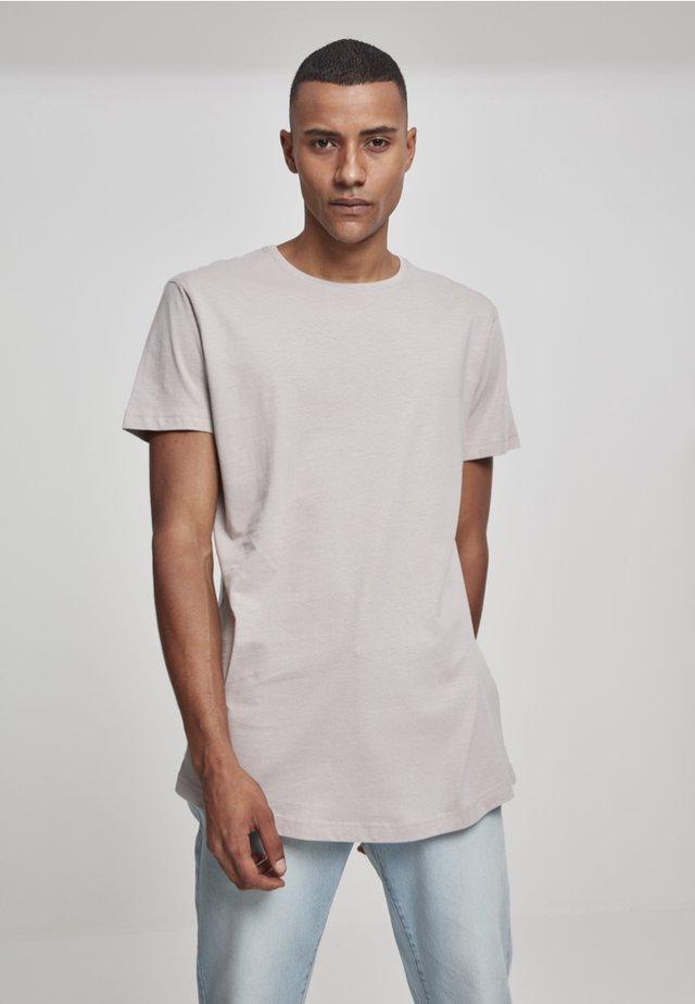 SHAPED LONG TEE DO NOT USE - Basic T-shirt - sand