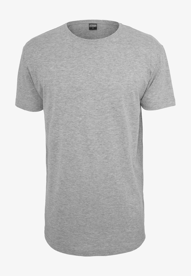 SHAPED LONG TEE DO NOT USE - Basic T-shirt - grey